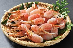 【ふるさと納税】【8】生ずわい蟹 カニ爪肉 約500g(10〜25本)_NA15