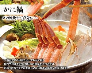 【ふるさと納税】【18】生ずわい蟹 お鍋 セット 約1.0kg_NA46