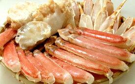 【ふるさと納税】【13】生ずわい 蟹 ハーフポーション 約1.2kg_8805
