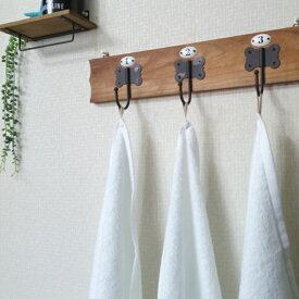 【ふるさと納税】純白バスタオル3枚セット ループ付き 泉州産