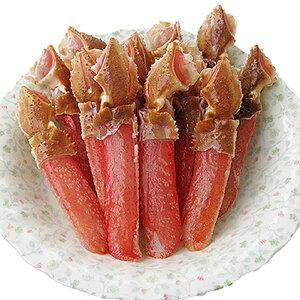【ふるさと納税】生ずわい爪下棒肉ポーション500g 【ずわい蟹・ずわいガニ・ズワイガニ】