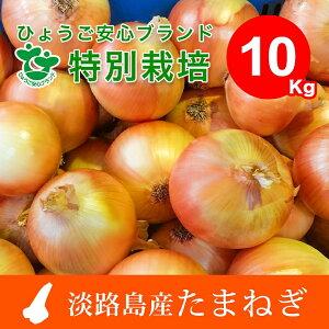 【ふるさと納税】EB14*兵庫県認証 特別栽培 淡路島たまねぎ10kg