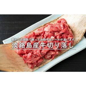 【ふるさと納税】FF19*淡路島産牛の切り落とし 600g(300g×2パック)