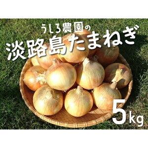【ふるさと納税】FX03:うしろ農園の淡路島玉ねぎ5kg