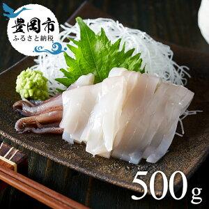 【ふるさと納税】冷凍白いか 500g / イカ