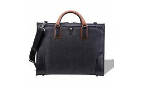 【ふるさと納税】ビジネス 豊岡鞄 craftsmanship3方OP (ブラック) / カバン かばん ビジネスバック