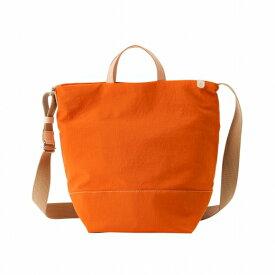 【ふるさと納税】ショルダーバッグ 豊岡鞄 snapvegi ショルダー(オレンジ)/ カバン かばん