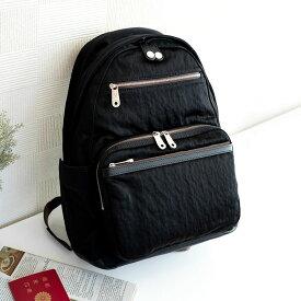 【ふるさと納税】リュック 豊岡鞄 CSRC-002(ブラック)/ カバン かばん リュック