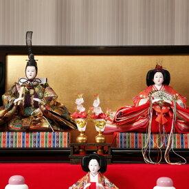 【ふるさと納税】雛人形 七段十五人飾り