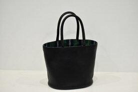 【ふるさと納税】鞄職人が手掛ける【PAGOTタータン バケツバッグ】