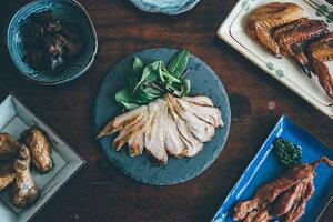 【ふるさと納税】香房 たかさご食彩縁 牡蠣とローストチキンの燻製が入った、こだわりの燻製詰め合わせ セット 【 かき 肉 兵庫県 高砂市 】