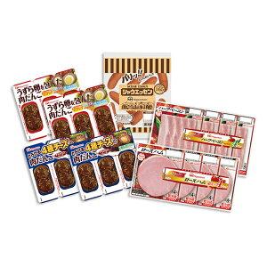 【ふるさと納税】日本ハムお弁当にぴったり!セット 【ソーセージ、ハム、ベーコン、肉だんご】