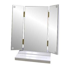【ふるさと納税】木製卓上三面鏡 SM-2437 【雑貨・日用品・インテリア】