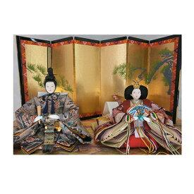 【ふるさと納税】雛人形 京三五親王「鳳凰」オリジナル金襴敷 No.35-112 【雛人形・人形・インテリア】
