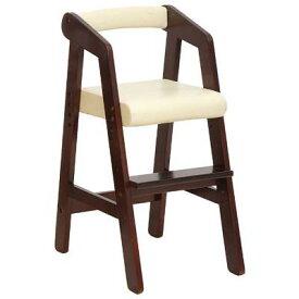 【ふるさと納税】キッズハイチェアー(ダークブラウン) 【家具/インテリア/赤ちゃん用品・子供用・椅子・イス】