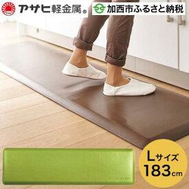 【ふるさと納税】ドクターマット(L)/リーフ 【雑貨・日用品・キッチンマット】