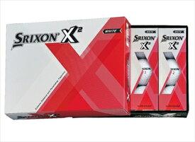 【ふるさと納税】ゴルフボール スリクソン X2 ホワイト
