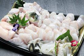 【ふるさと納税】【橋詰鮮魚】淡路島3年とらふぐ鍋セット(白子付)3〜4人前