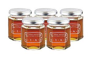 【ふるさと納税】琥珀色の誘惑 日本蜜蜂のハチミツ「とろみつ」5本セット