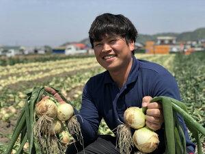 【ふるさと納税】原田さんちの中嶋農法で作られた淡路島玉ねぎ 10kg
