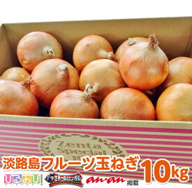 【ふるさと納税】【10kg】淡路島フルーツ玉ねぎ