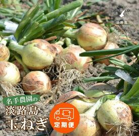 【ふるさと納税】【定期便】名手農園の淡路島特産玉ねぎ10kgの12ヶ月コース