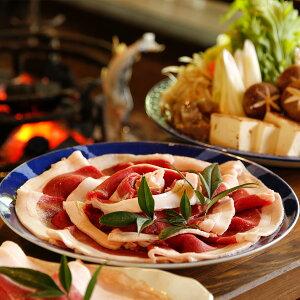 【ふるさと納税】ぼたん鍋セット(猪肉600g)
