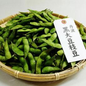 【ふるさと納税】特選 丹波黒大豆枝豆(枝なし莢のみ1kg)