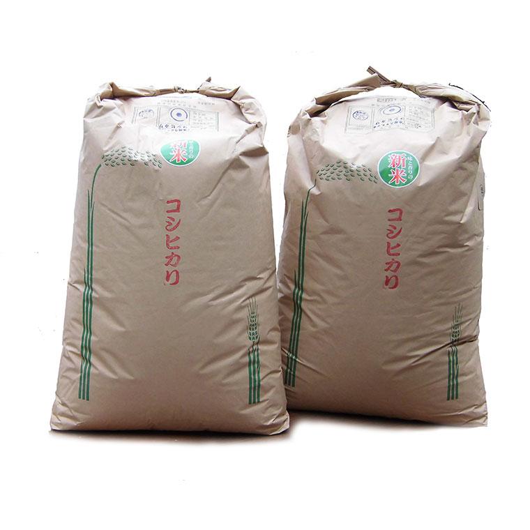 【ふるさと納税】244 クリーン白米コシヒカリ60kg