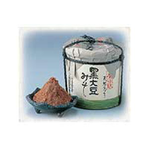 【ふるさと納税】41 こだわり黒大豆味噌2kg木樽