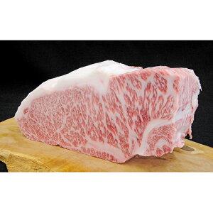 【ふるさと納税】【牧場直売黒毛和牛】サーロインブロック1.1kg 【お肉・牛肉・ステーキ・焼肉・バーベキュー・サーロイン】