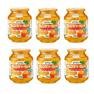 【ふるさと納税】カンピー 780gオレンジマーマレード1ケース(6本入) 【ジャム・オレンジ】