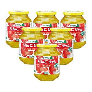 【ふるさと納税】カンピー 780gりんごジャム1ケース(6本入) 【ジャム・りんご・林檎ジャム】