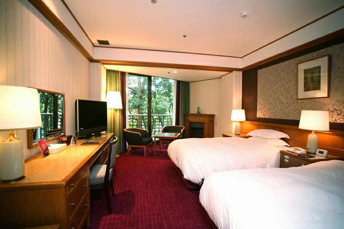 【ふるさと納税】E-10 奈良ホテル ペア宿泊券(1泊朝食付)スタンダードツイン