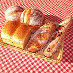 【ふるさと納税】【国産小麦と天然酵母100%!】だるまのこだわりパン詰め合わせ(7個入)【1071608】