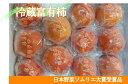 【ふるさと納税】冷蔵富有柿 日本野菜ソムリエ協会大賞受賞品(10〜12個)12月中旬から順次発送予定です