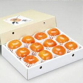 【ふるさと納税】たねなし柿ギフト(紙箱)2Lサイズ9個10月上旬から11月上旬順次発送します