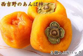【ふるさと納税】(無添加)西吉野産のあんぽ柿(18個)※2020年12月中旬〜2021年1月下旬発送予定