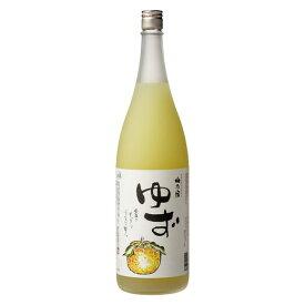 【ふるさと納税】梅乃宿 ゆず酒 1800ml/国産 柚子 果汁たっぷり 奈良県 葛城市 人気 おいしい おすすめ