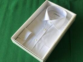 【ふるさと納税】オーダーワイシャツBP(ノーアイロン仕様)黒蝶貝の貝ボタンを使用/ODY007