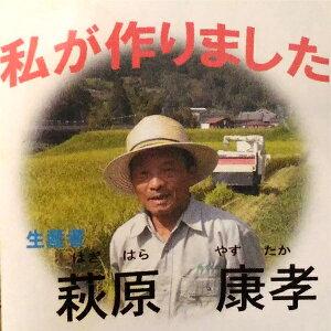 【ふるさと納税】萩原康孝のこしひかり 玄米30kg◆