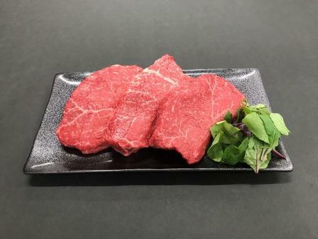 【ふるさと納税】熊野牛 赤身ステーキ 200g×3枚