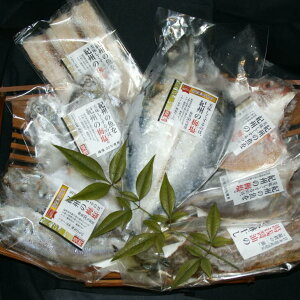 【ふるさと納税】和歌山の近海でとれた新鮮魚の鯛入り梅塩干物と湯浅醤油みりん干し7品種11尾入りの詰め合わせ