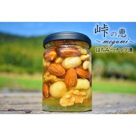 【ふるさと納税】ナッツの蜂蜜漬【峠の恵】 熊野古道 峠の蜂蜜×ナッツ