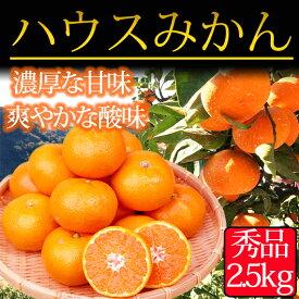 【ふるさと納税】赤秀品 紀州和歌山ハウスみかん2.5kg