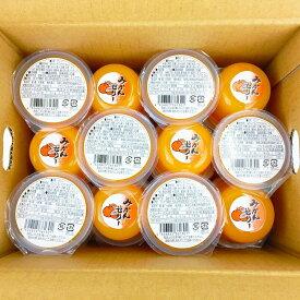 【ふるさと納税】『和歌山市』 果肉果汁たっぷり有田濃厚みかんゼリー24個入