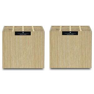 【ふるさと納税】タツクラフト バスク ペンスタンド S 16本 ナチュラル 2個セット 心がほっと癒されそうな優しい温もりを感じられるおしゃれな木目柄。コンパクトに収まるキューブスタイ
