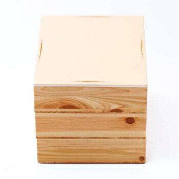 【ふるさと納税】Njeco汎 三段重箱(白)