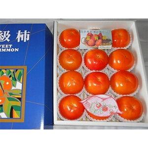 【ふるさと納税】太陽の光をたっぷり浴びた松岡農園の富有柿(3L 12個)【1090792】