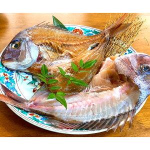 【ふるさと納税】天然鯛活干物(2匹セット)